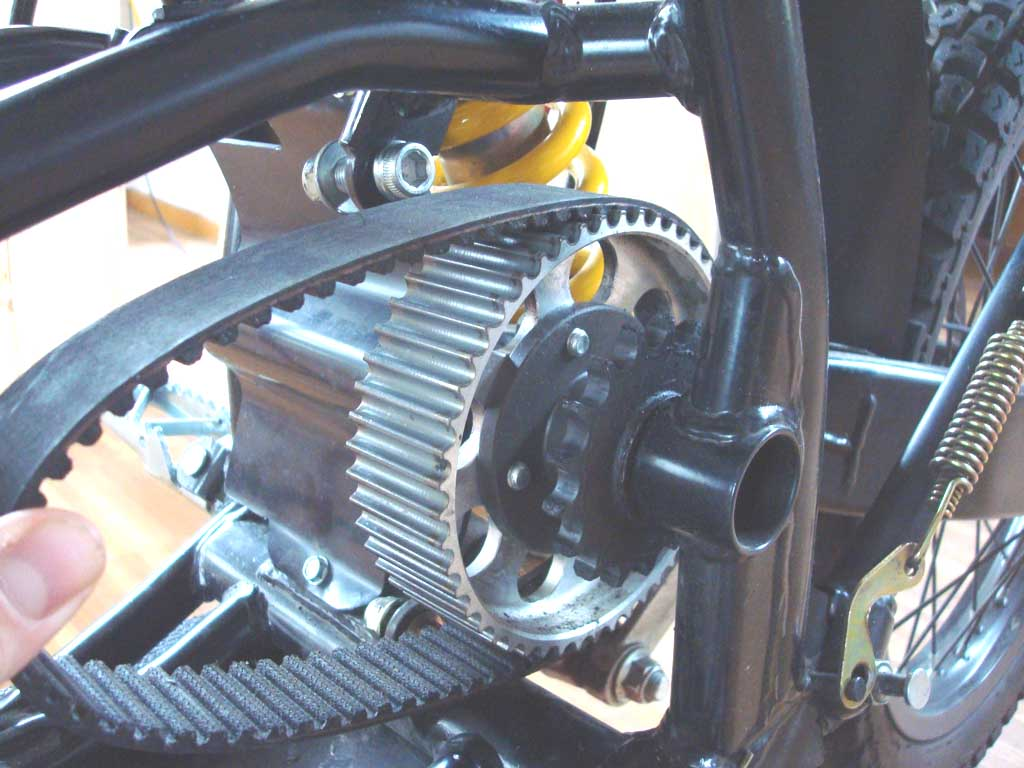 A Freewheel Clutch For The Quantya Electric Motorcycle